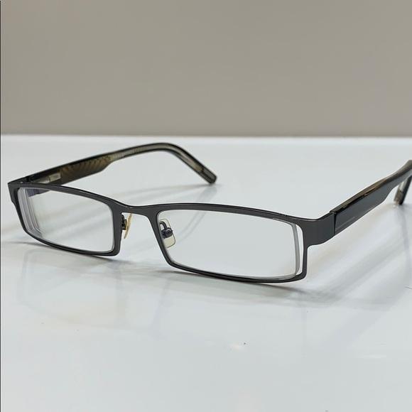 b866dc69ebeb Jhane Barnes Accessories | Pewter Designer Rx Eyeglass Frame | Poshmark